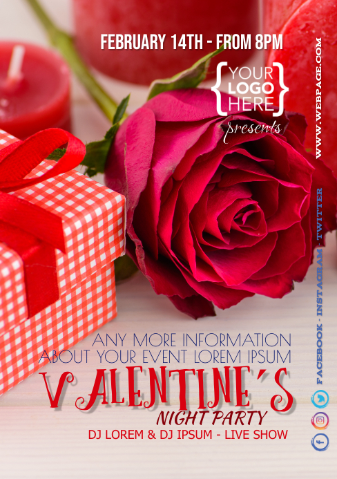 Valentine´s Day Party Life Show