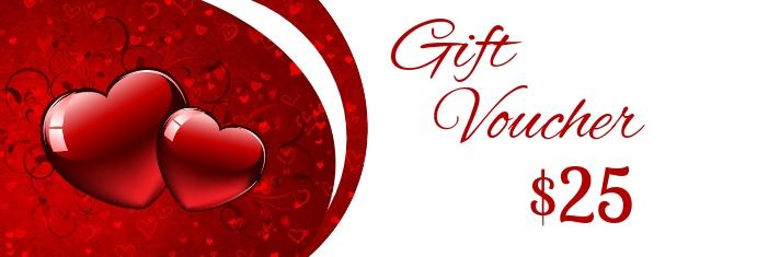 Valentine's Day Gift Voucher Баннер LinkedIn template
