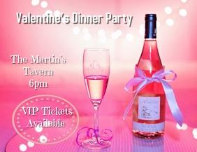 Valentine's Dinner Template