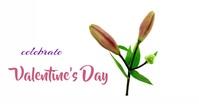 Valentine's FB animation Facebook-Veranstaltungscover template