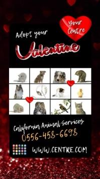 valentine adoption insta story1 template
