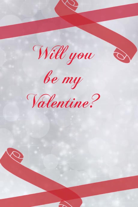 Valentine Card Template Valentine Poster New Year Greeetings