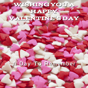 Valentine Card Template