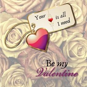 valentine card1 Instagram Post template