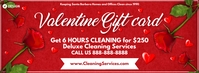Valentine Cleaning Gift Card 2021 Template Facebook-Cover