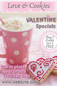 Valentine Cookies Poster