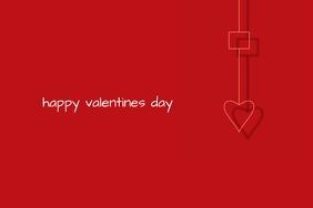 Happy Valentine's Day 2021 Template Cartaz