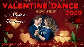 Valentine Dance Digital Display (16:9) template
