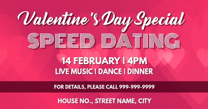 Valentine dance party event cover