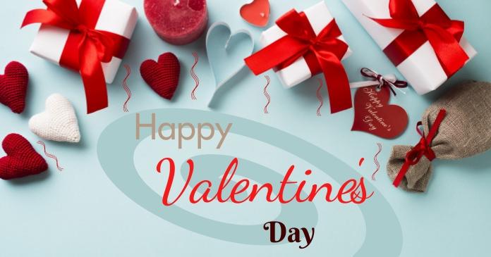 valentine day รูปภาพที่แบ่งปันบน Facebook template