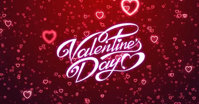 valentine day Facebook 共享图片 template