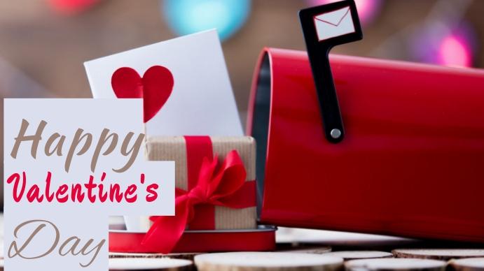 Valentine Day Digitalt display (16:9) template
