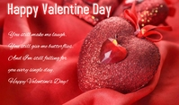 Valentine Day Tag template