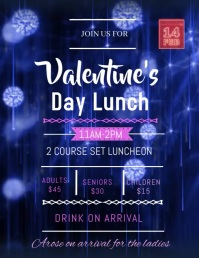 VALENTINE DAY FLYER Pamflet (VSA Brief) template