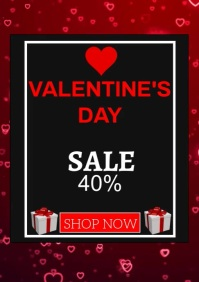 VALENTINE DAY RETAIL SALE TEMPLATE A4