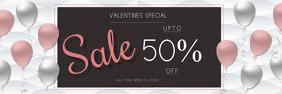 Valentine day retail template