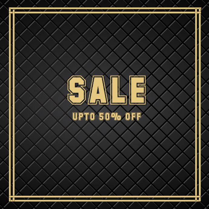 Sales discount retail shop poster