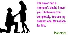 Valentine Image partagée Facebook template