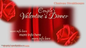 Valentine Dinner Digital Display