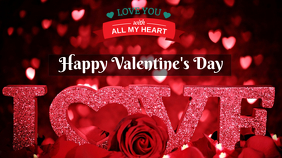 valentine Цифровой дисплей (16 : 9) template
