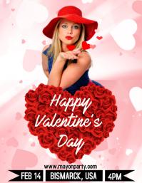 Valentine Flyer Template