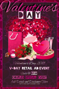 Valentine Gifts Love Romance Couple Hearts VDay Dating Event