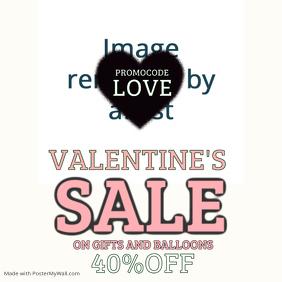 Valentine Instagram Promo Template