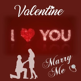 Valentine Marry Me Video