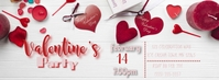 Valentine Party Facebook 封面图片 template
