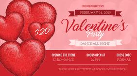 Valentine Party Digital Display