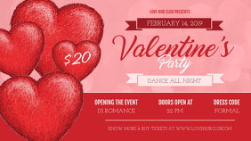 Valentine Party Digital Display