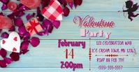 Valentine Party Facebook template