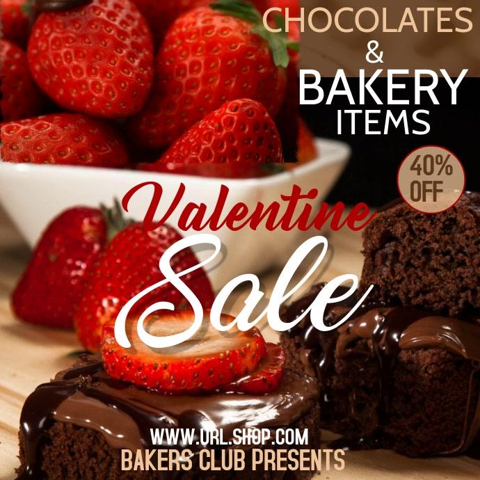 Valentine party video, bakery sale video