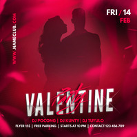 Valentine retail ,event flyers, valentines Pos Instagram template