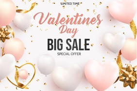 Valentine retail ,event flyers Poster template