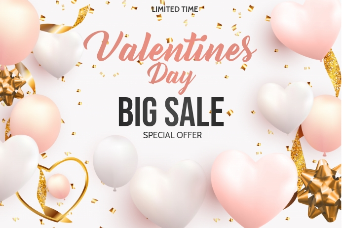 Valentine retail ,event flyers