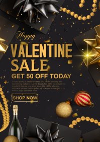 valentine retail A4 template