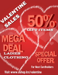 Valentine Retail Flyer