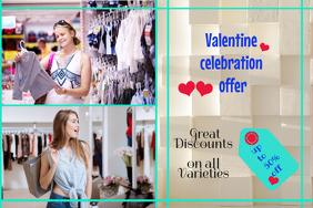 valentine retail template,valentine poster