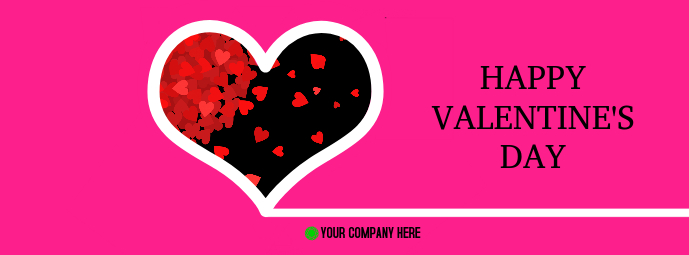 Valentine's Day Facebook Cover template
