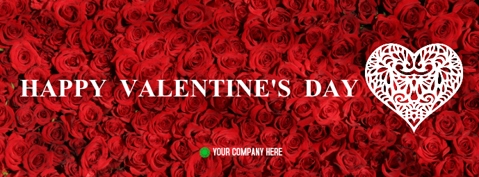 Valentine S Day Facebook Cover Template Postermywall