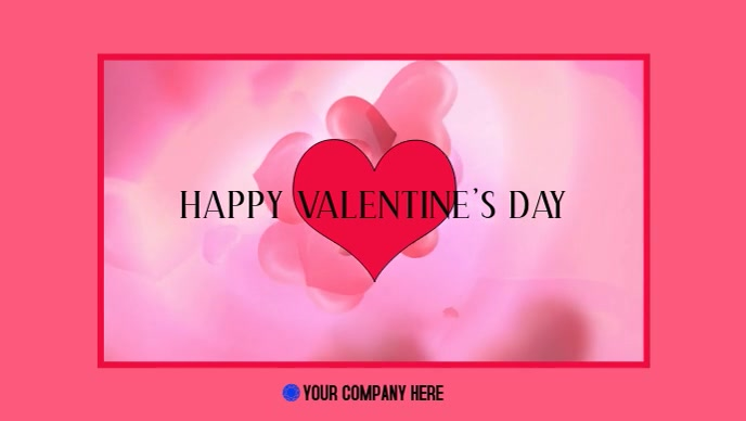 Valentine S Day Facebook Cover Video Template Postermywall