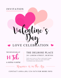 Valentineu0027s Day Flyer