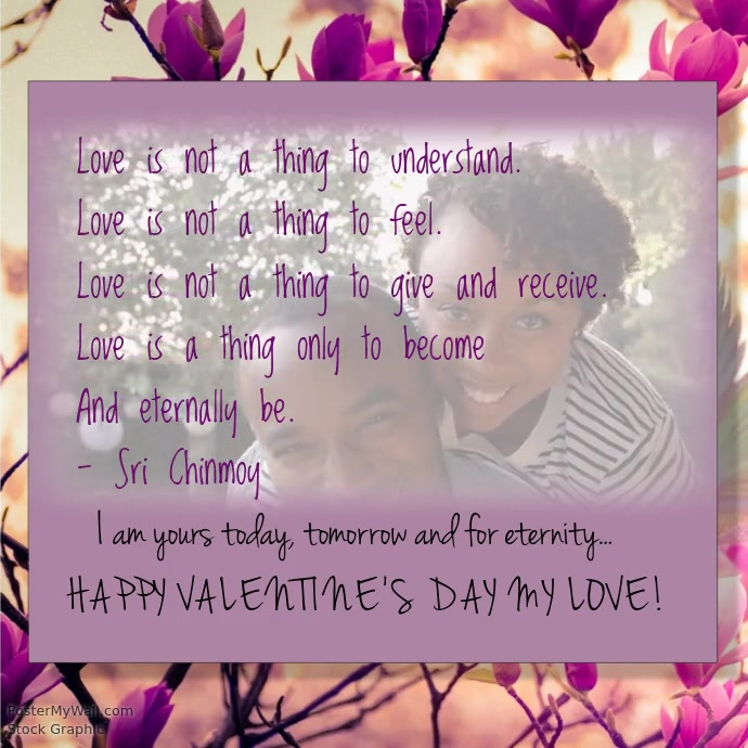 Valentines day poem template postermywall valentines day poem customize template maxwellsz