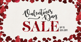 Valentine's day Sale Facebook