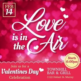 Valentine's Event Promo Video Template