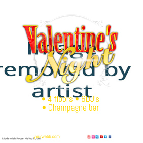 Valentine\'s Night Poster
