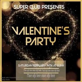 Valentine's Party instagram video