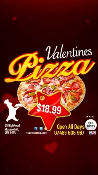 Valentine's Pizza Special