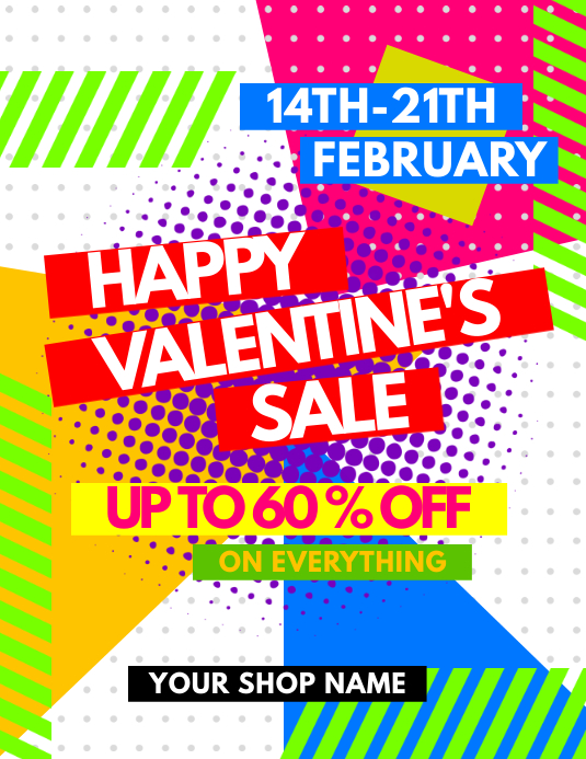 Valentine's Sale Day Flyer
